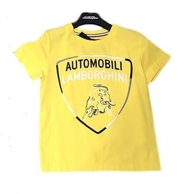Lamborghini T-shirt korte mouw geel
