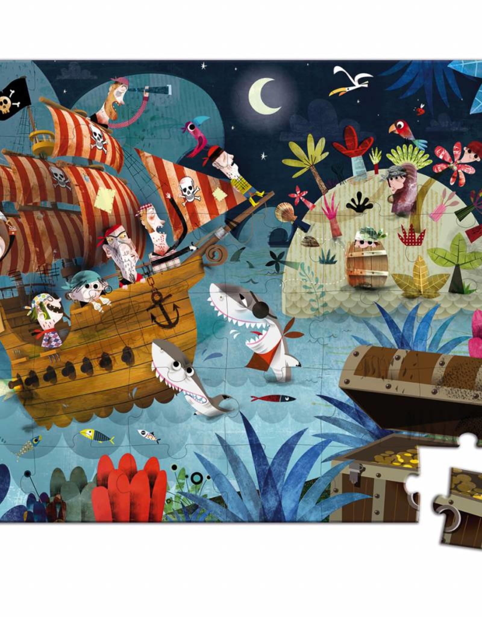 Janod Janod Puzzel Piraten