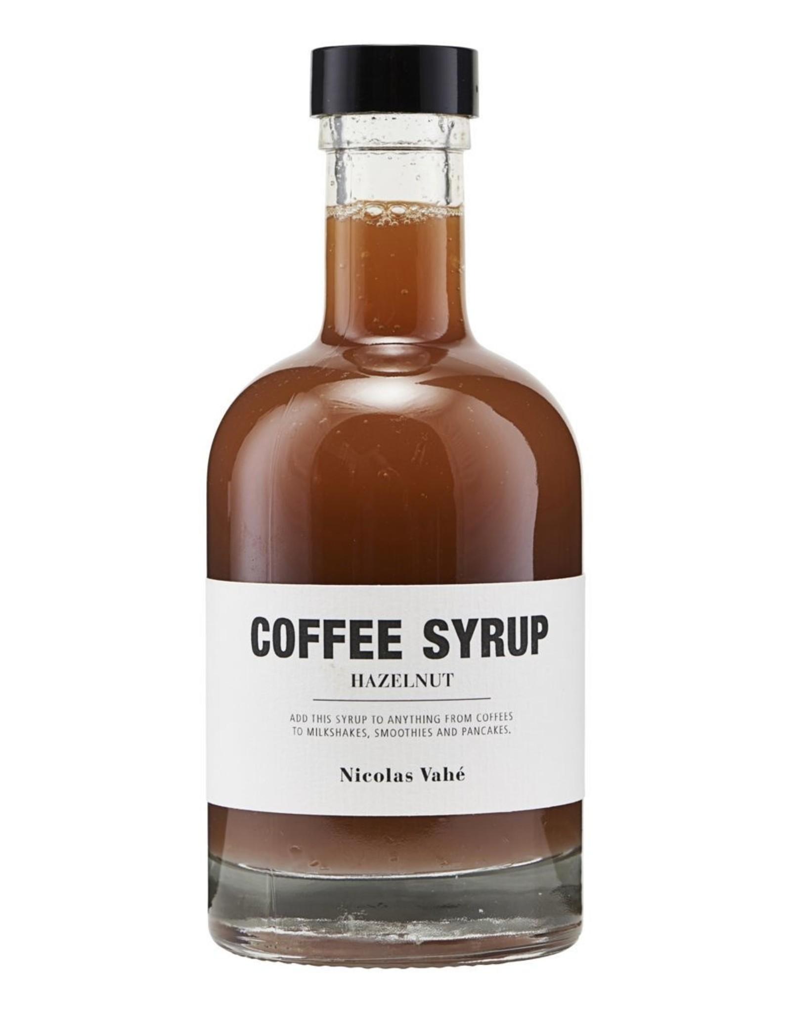 Nicolas Vahé Nicolas Vahé koffie siroop Hazelnoot