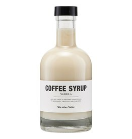 Nicolas Vahé Nicolas Vahé koffie siroop vanille