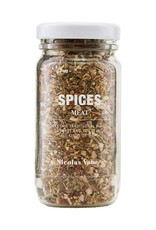 Nicolas Vahé Nicolas Vahe spices meat