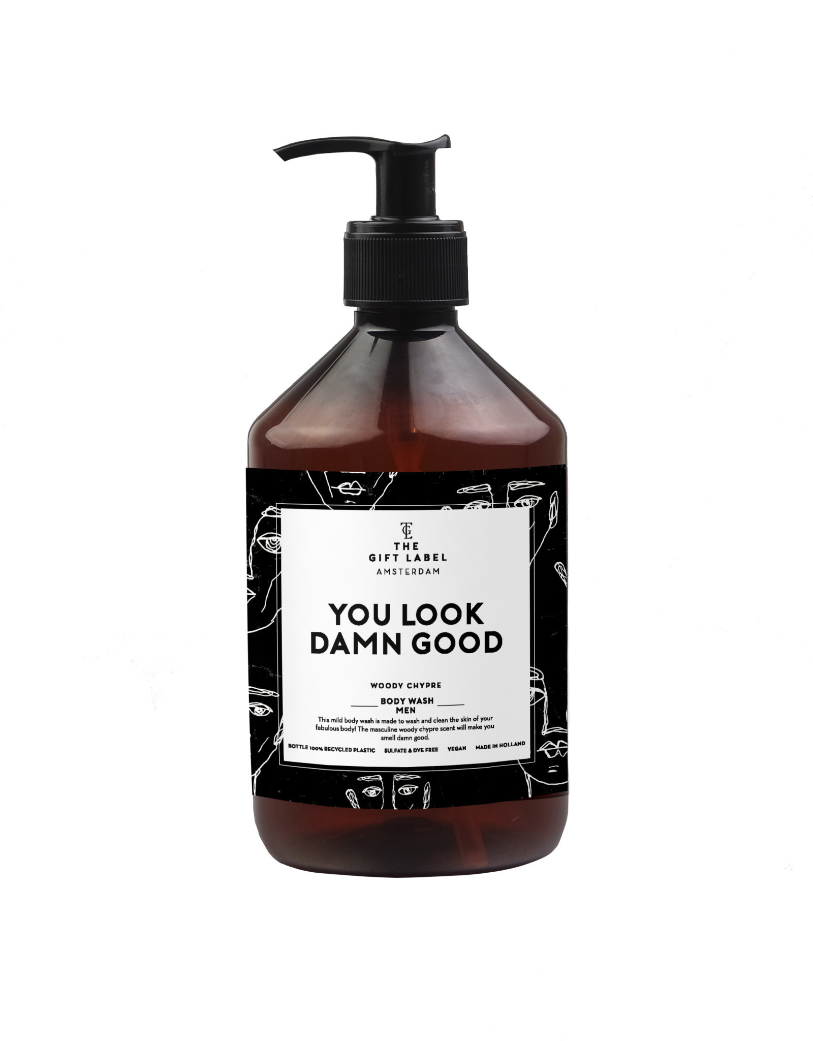 The Gift Label The Gift Label Body Wash You Look Damn Good