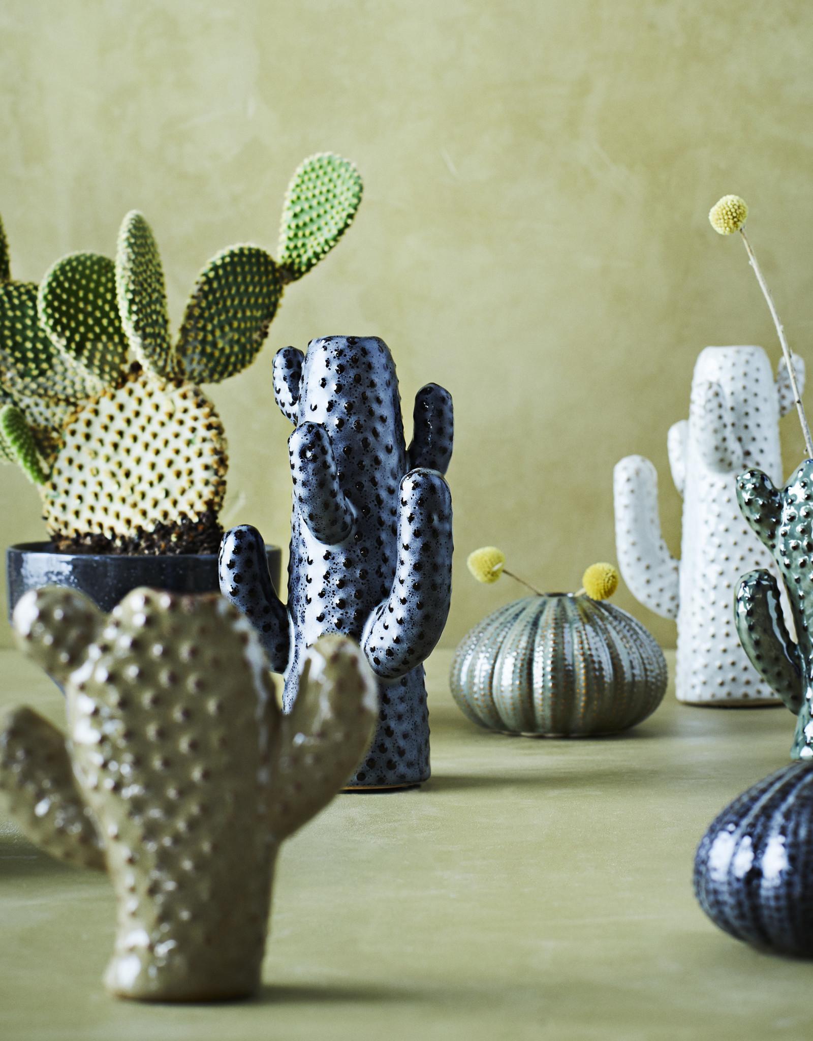Madam Stoltz Madam Stoltz cactus vaas groot grey