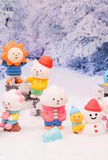 Pop Mart Pop Mart Fluffy House Winter