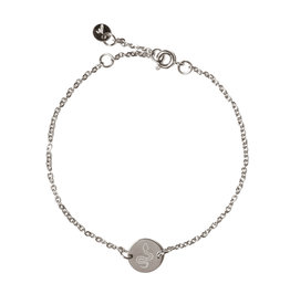 Madam the Label Madam the Label armband Chain Coin snake steel