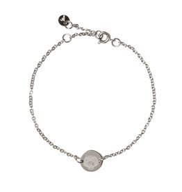 Madam the Label Madam the Label armband chain coin tiger steel