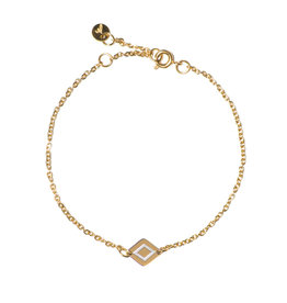 Madam the Label Madam the Label armband Ruby gold