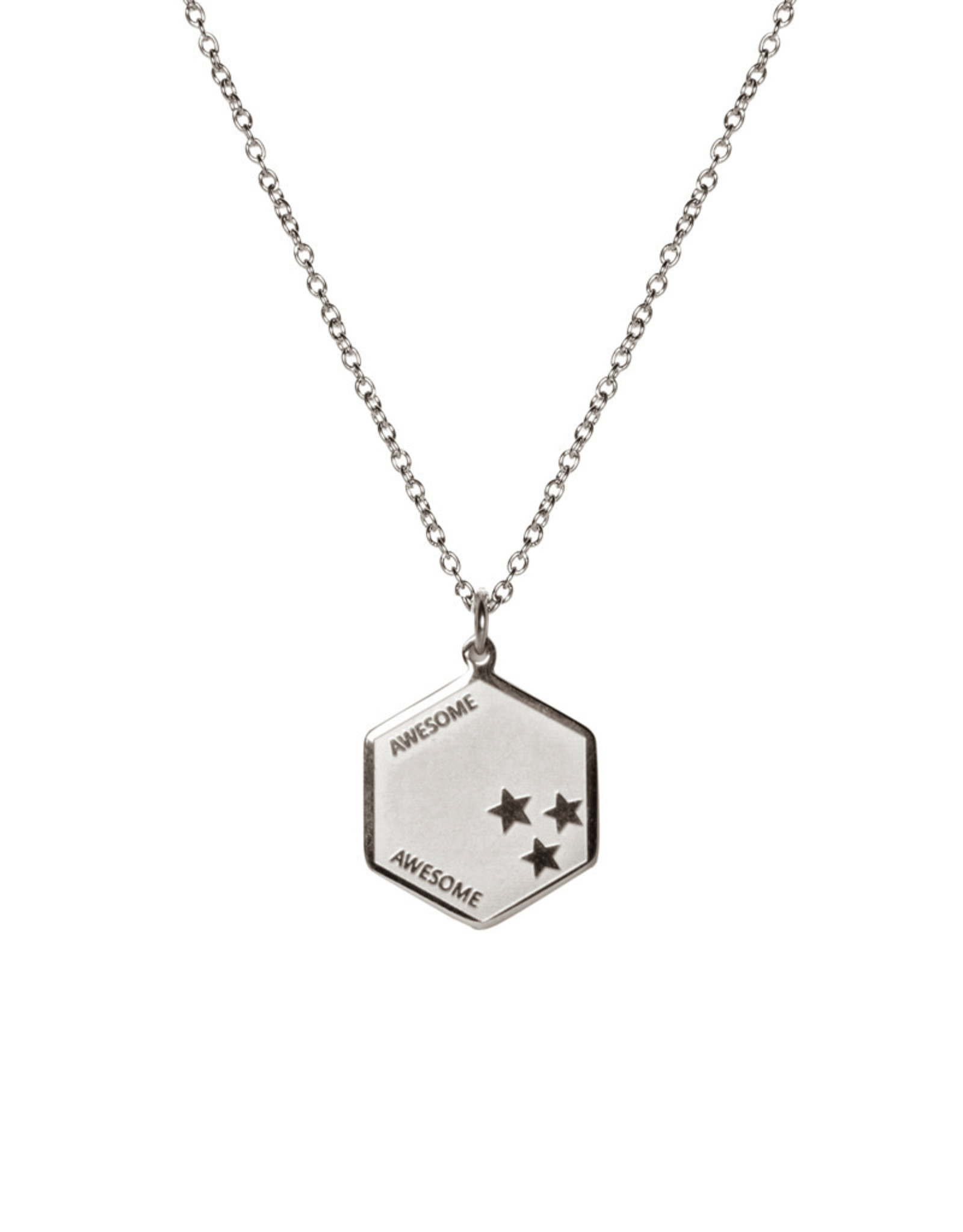 Madam the Label Madam the Label ketting Awesome steel
