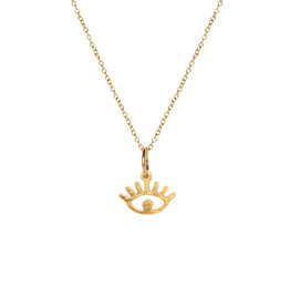 Madam the Label Madam the Label ketting Eye gold
