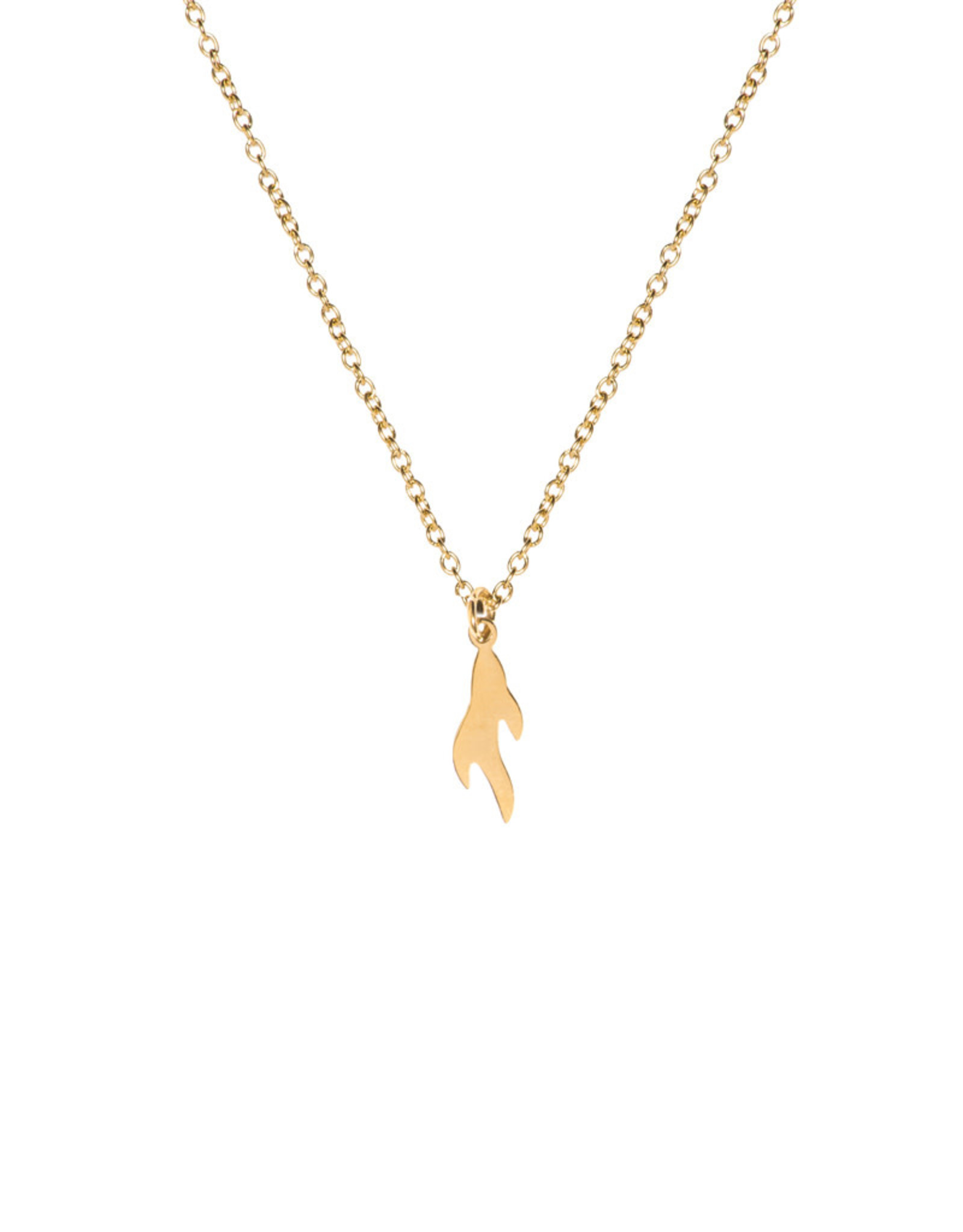 Madam the Label Madam the Label ketting flame gold