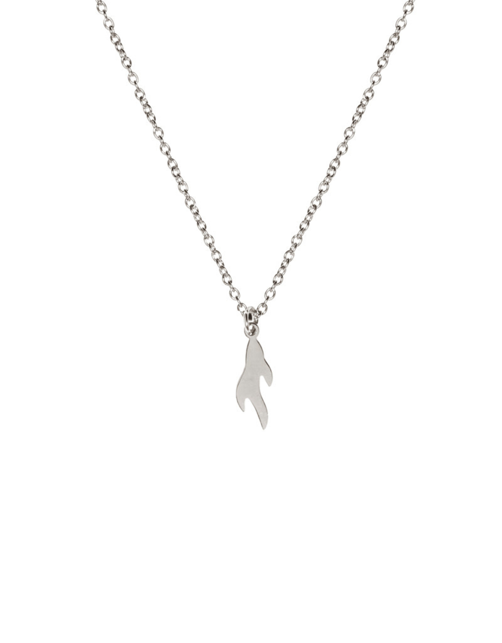 Madam the Label Madam the Label ketting Flame steel