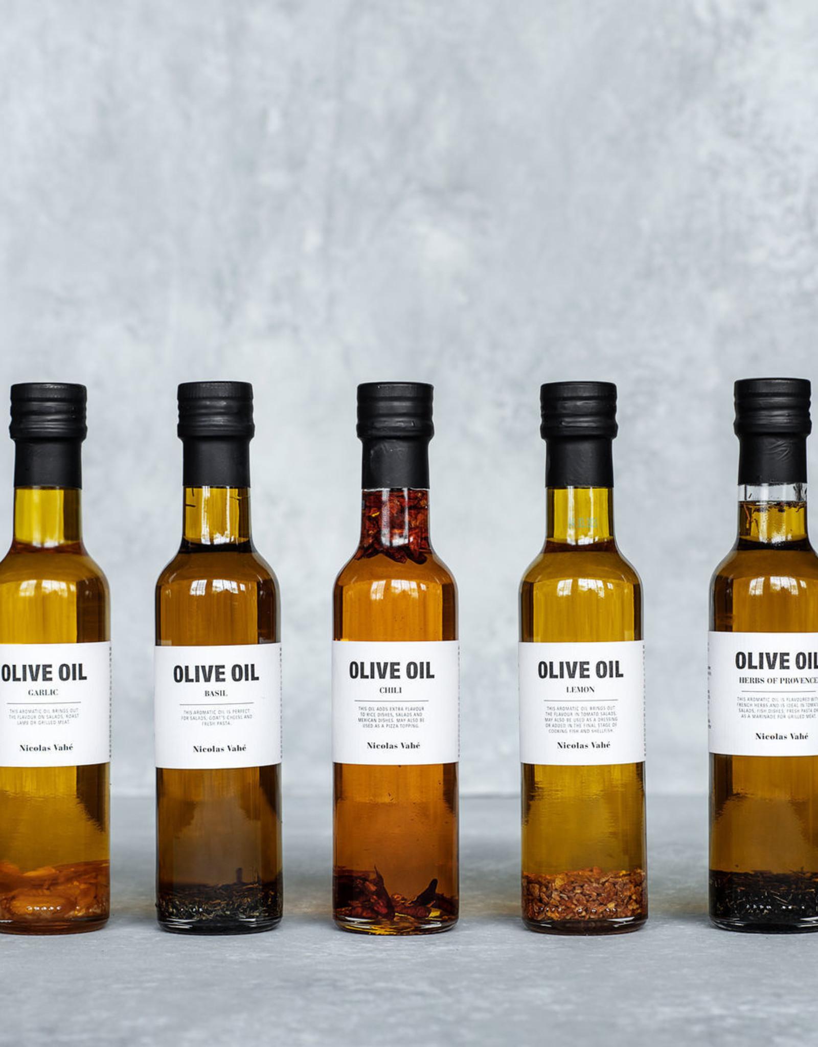 Nicolas Vahé Nicolas Vahe olive oil Basil