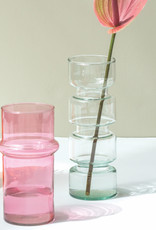 Urban Nature Culture UNC vase recycled glass pink