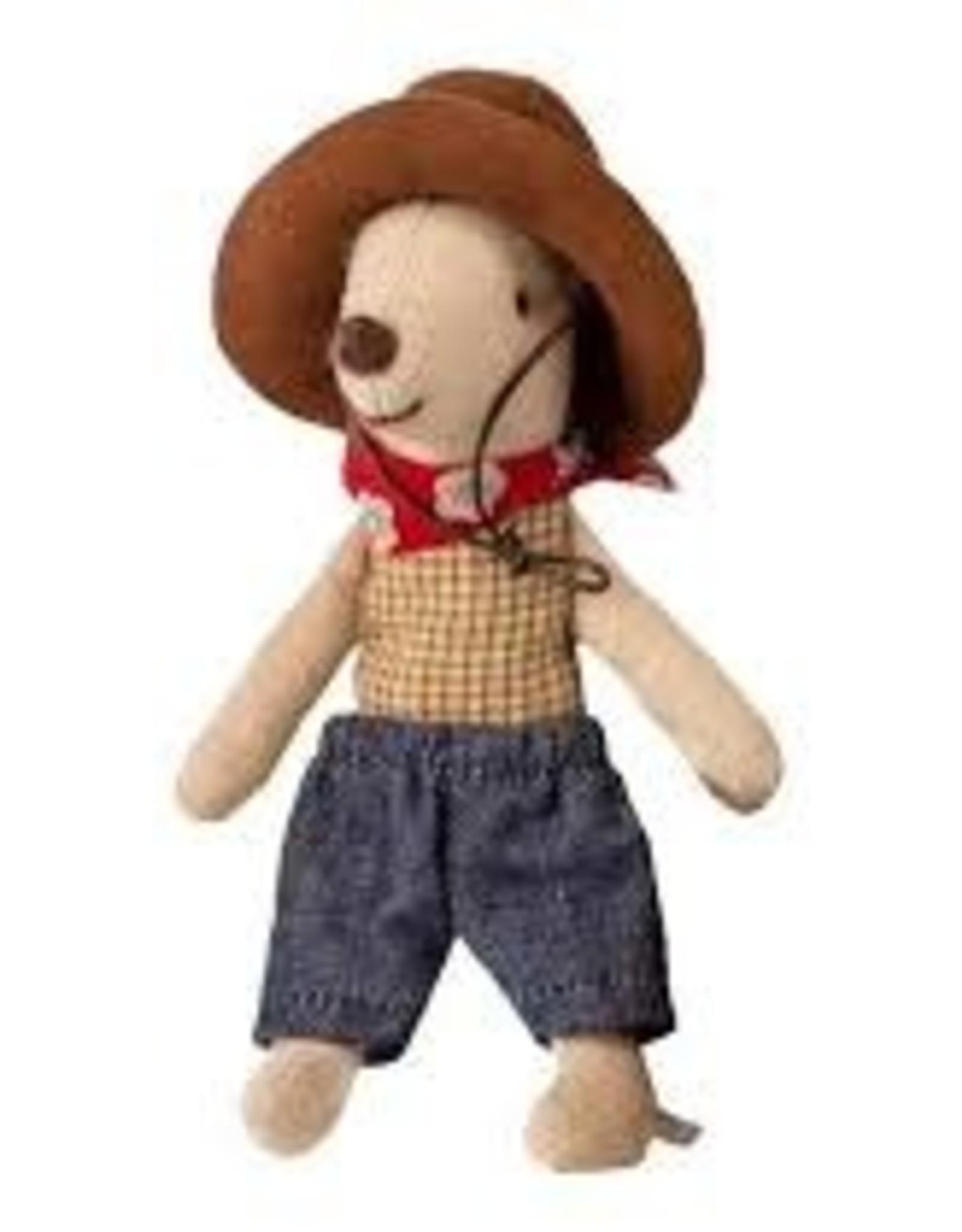 Maileg Maileg cowboy in koffertje