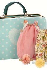 Maileg Maileg koffertje met 2 jurkjes