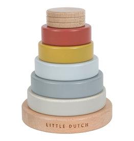 Little Dutch Little Dutch stapeltoren Pure & Nature