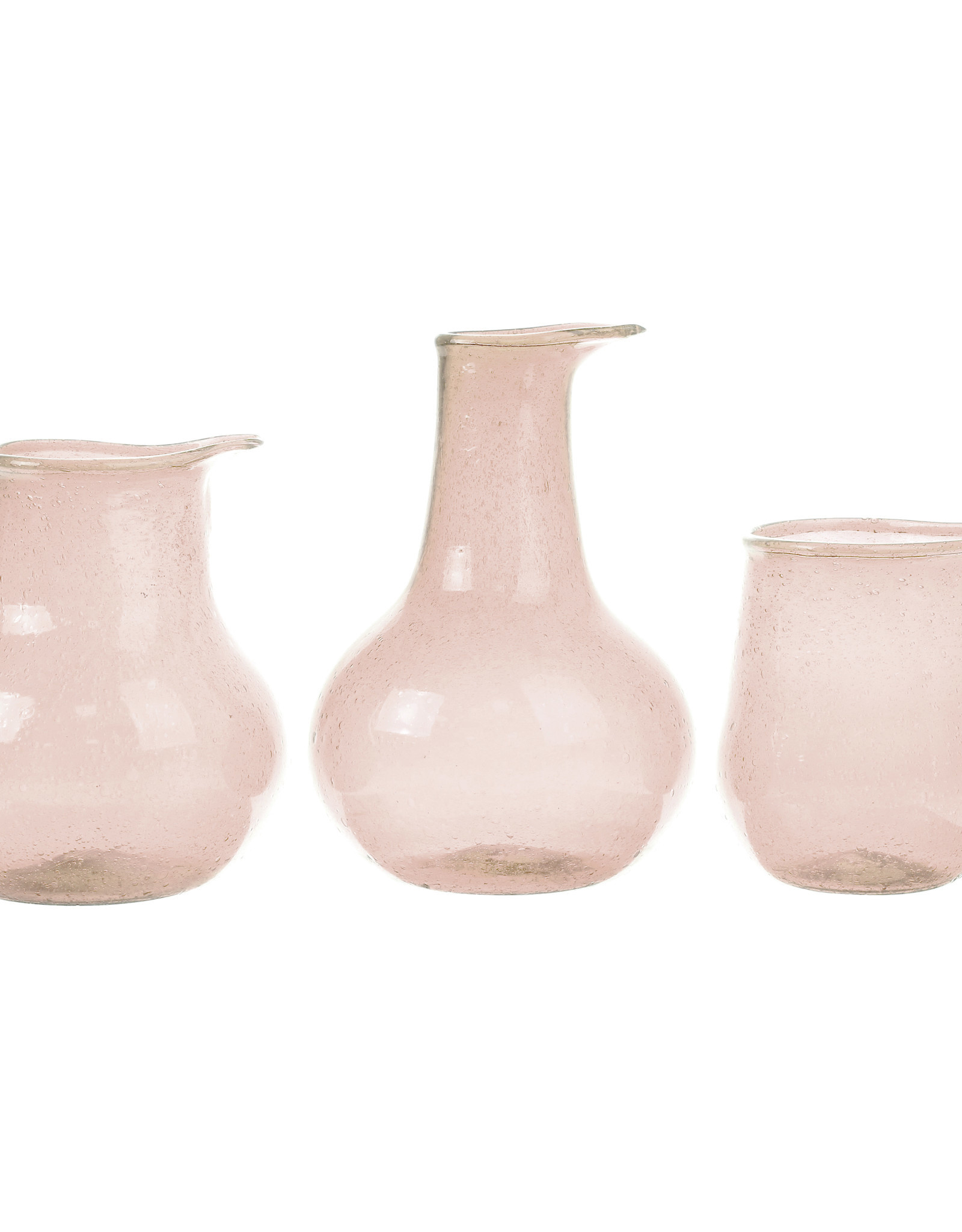 HKliving HK living recycled vase nude set van 3