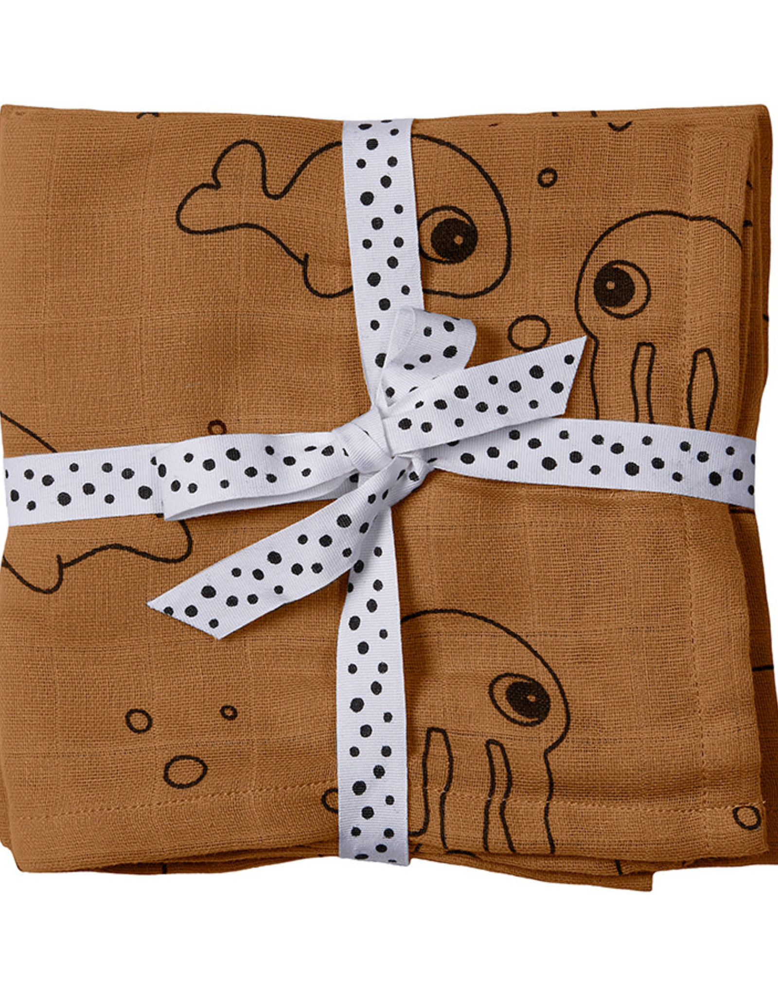 Done By Deer Done By Deer Swaddle 2 Pack mustard