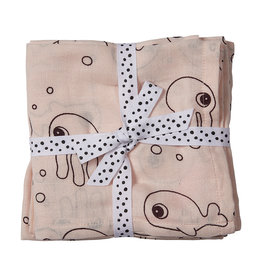Done By Deer Done By Deer Swaddle 2 pack Powder