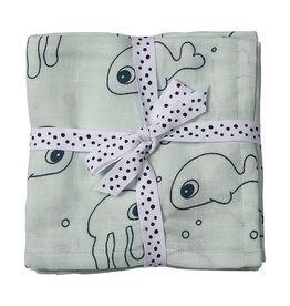Done By Deer Done My Deer Swaddle 2 Pack Blue