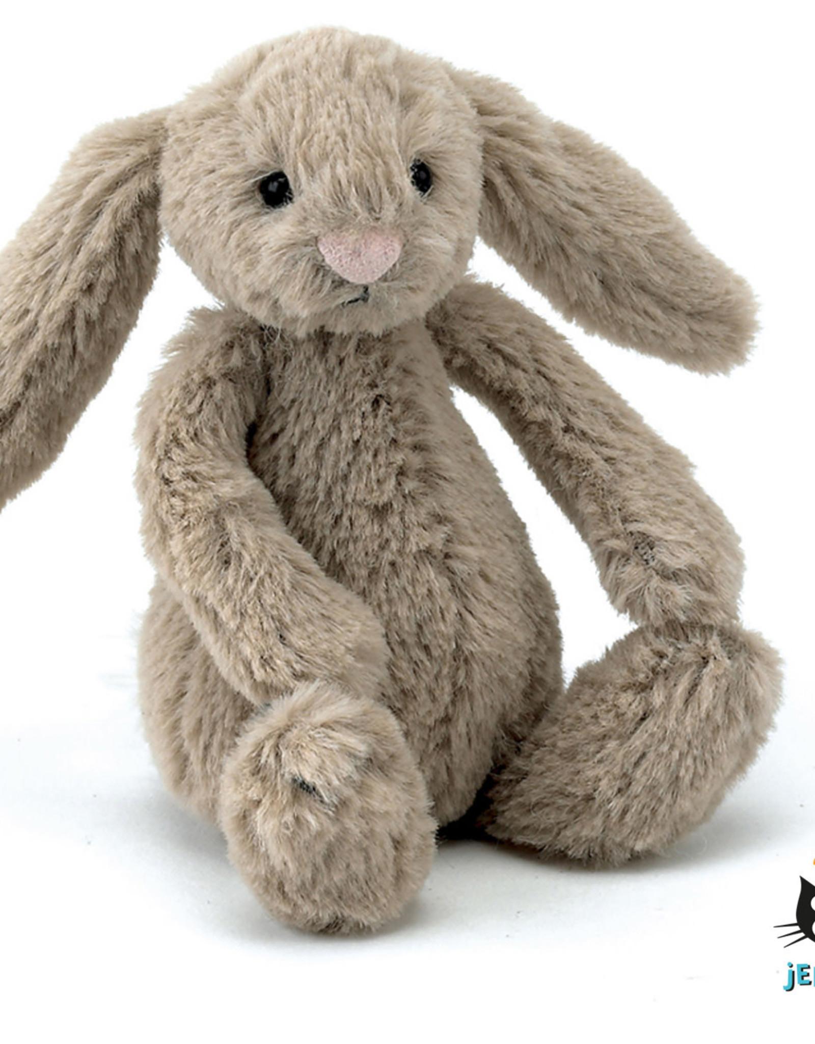 JellyCat Jellycat Beige Bashfull Bunny Baby