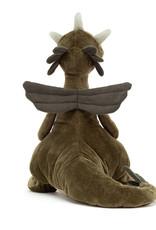 JellyCat Jellycat Olive Dragon