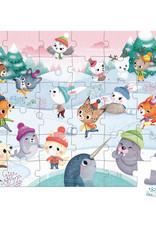 Janod Janod Puzzel Sneeuwfeest