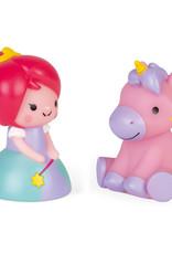 Janod Janod badspeelgoed prinses en unicorn