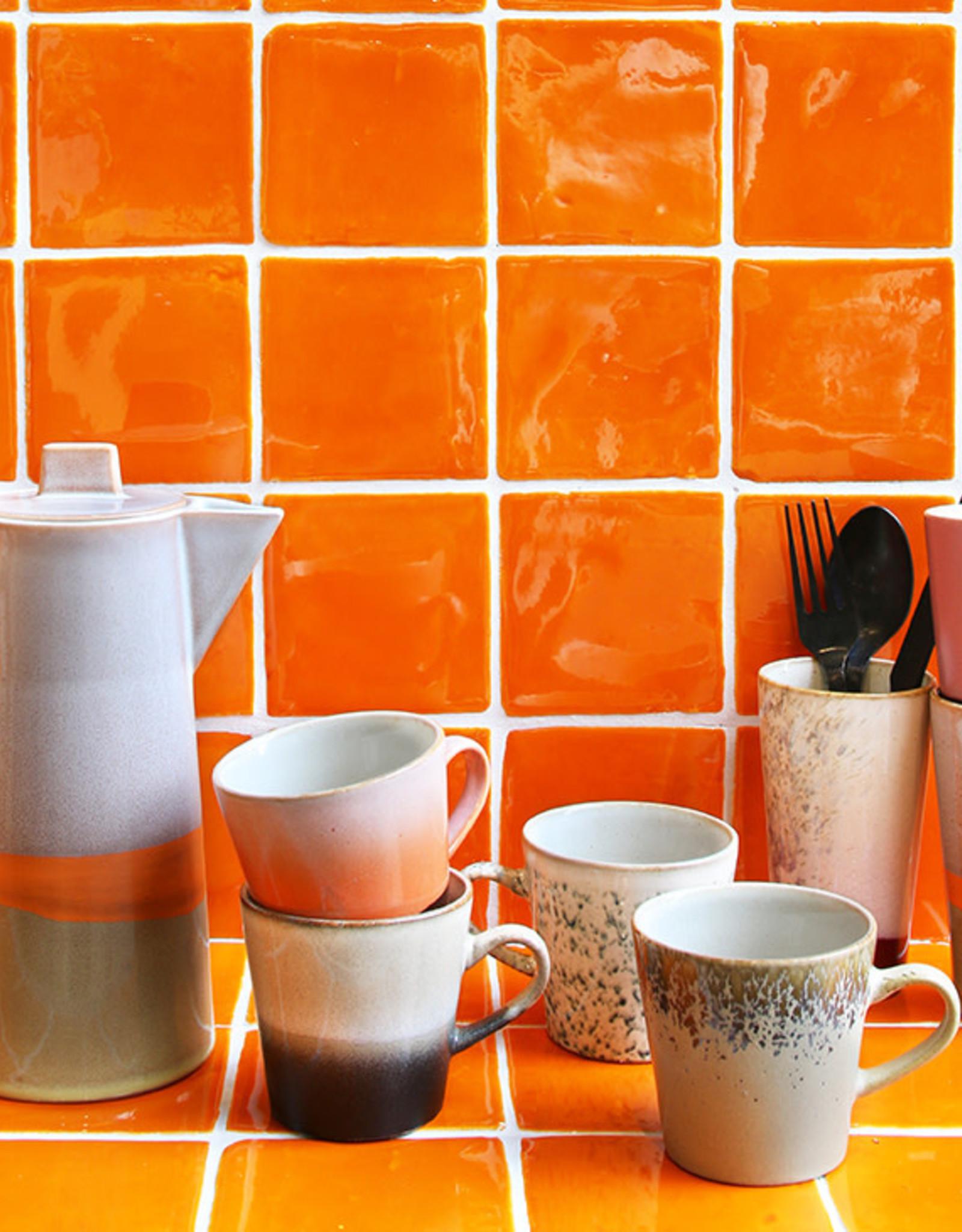 HKliving HK living Ceramic Americano Mug set van 4