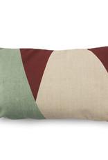 HKliving Hkliving Printed Cushion Kyoto 35x60cm