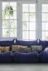 HKliving Doris for HKliving printed cushion green 35x60cm