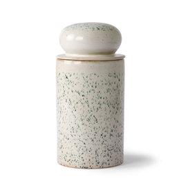 HKliving HK Living 70's Ceramics Storage Jar Hail