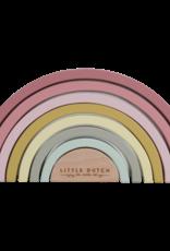 Little Dutch Little Dutch Houten Regenboog Roze