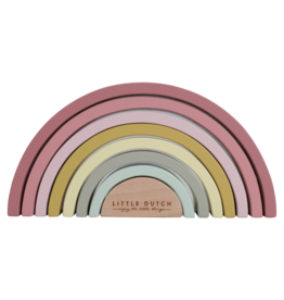 Little Dutch Little Dutch Houten Regenboog Roze