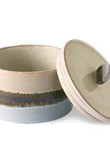 HKliving HKliving 70's Ceramics Cookie Jar Lake