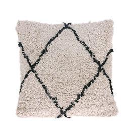 HKliving HKliving Cotton Diamond cushion 50x50cm