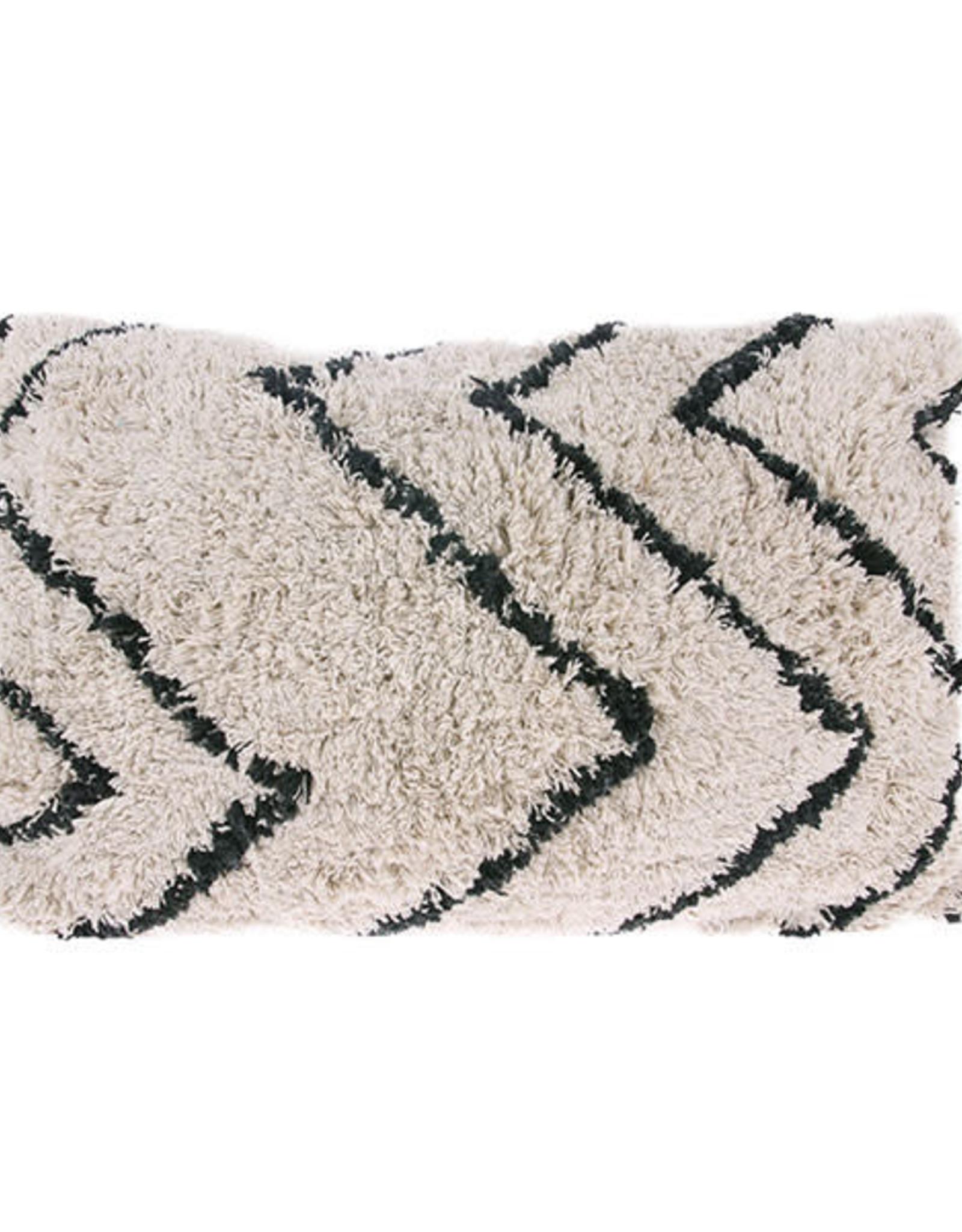 HKliving HKliving Cotton Zigzag Cushion 40x60cm