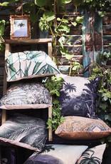 HKliving HKliving Printed Cushion Palm Leaves( 45x45cm)
