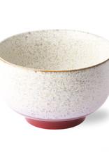 HKliving HKliving 70's Ceramics Noodle Bowl Frost