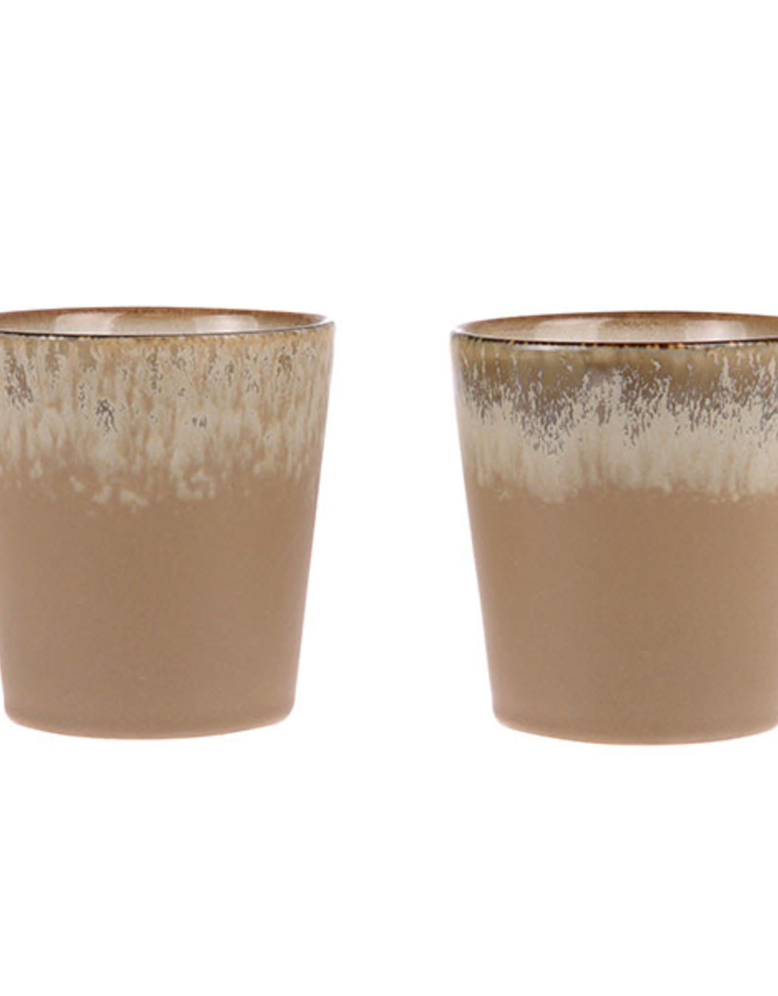 HKliving HKliving 70's Ceramics Mug Bark