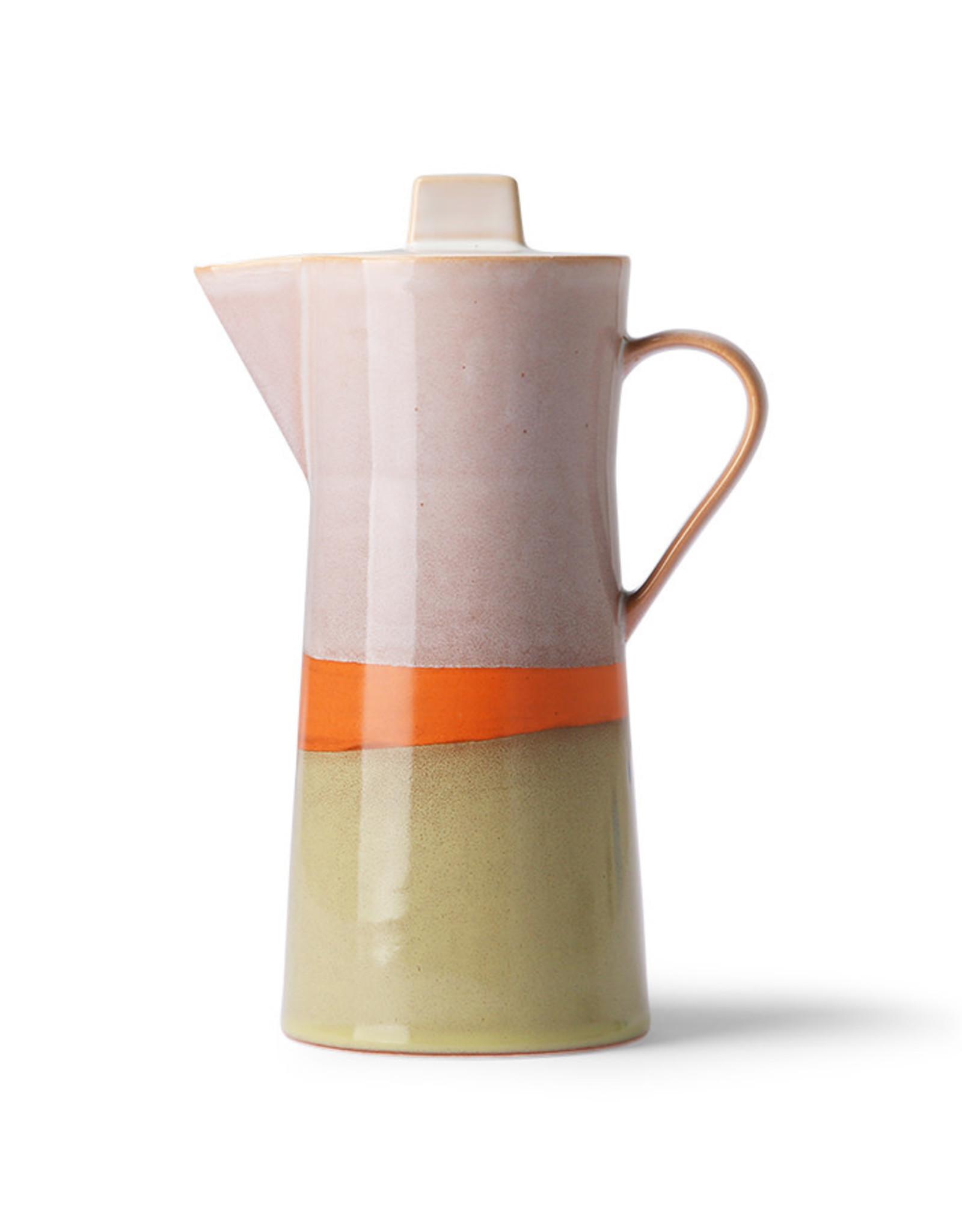 HKliving HKliving 70's Ceramic's Coffee pot