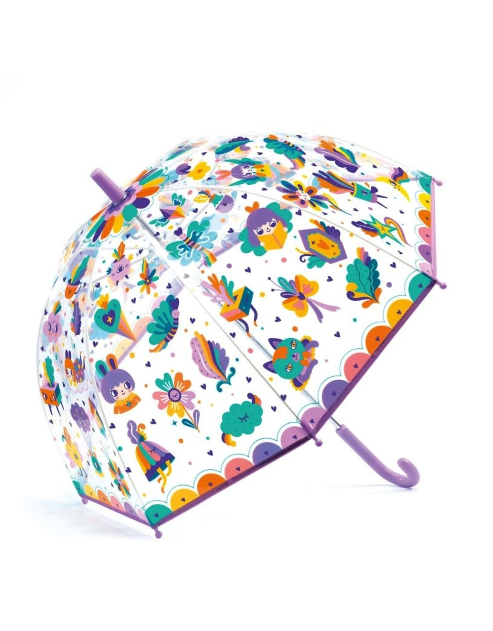 Djeco Djeco Umbrella Lovely Rainbow