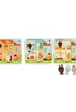 Djeco Djeco Puzzle Chez Carrot