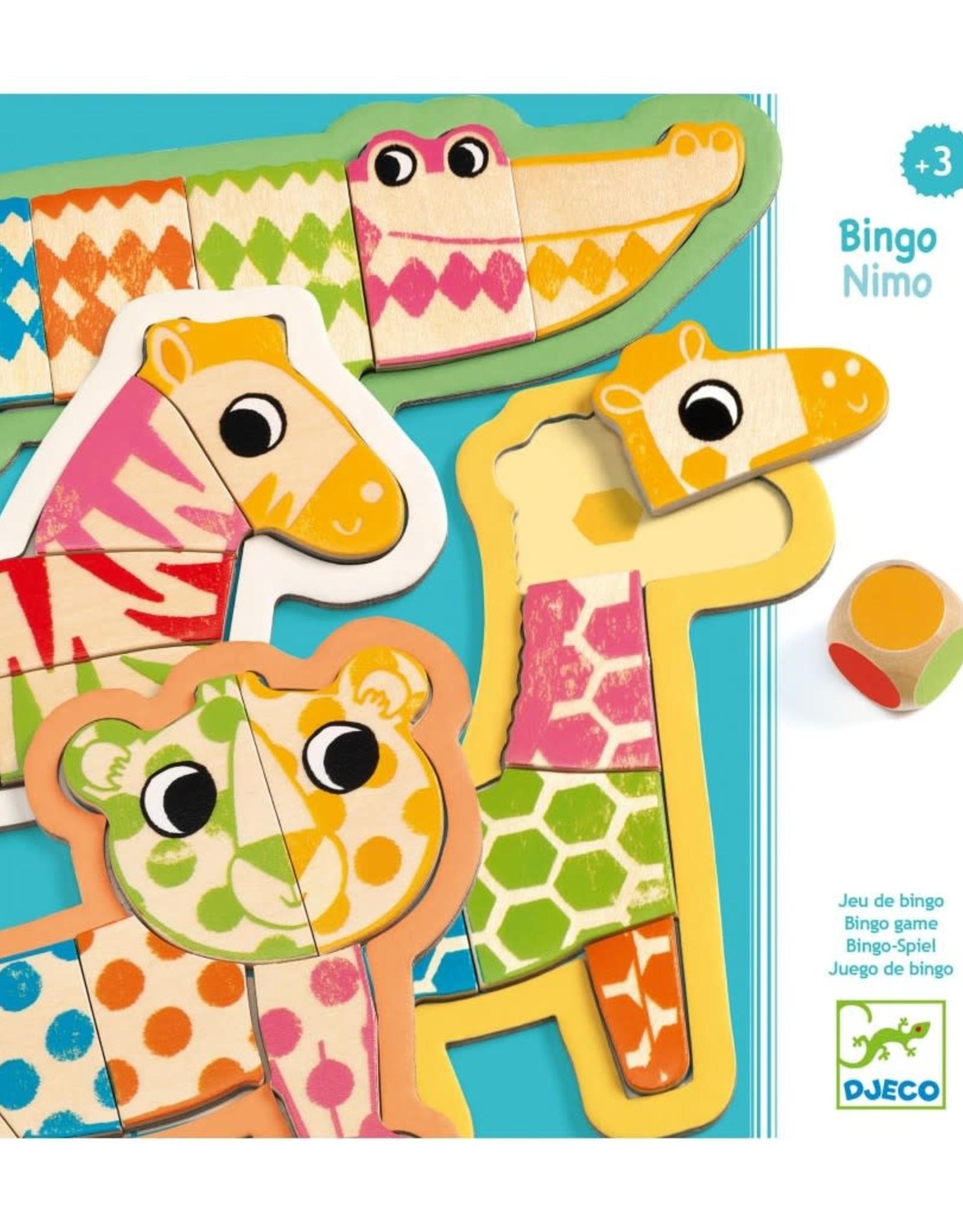 Djeco Djeco Bingo Nimo Houten spelletje