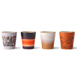 HKliving HKliving Ristretto Mugs (set van 4)