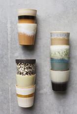 HKliving HK Living 70's Ceramics Mug Snow