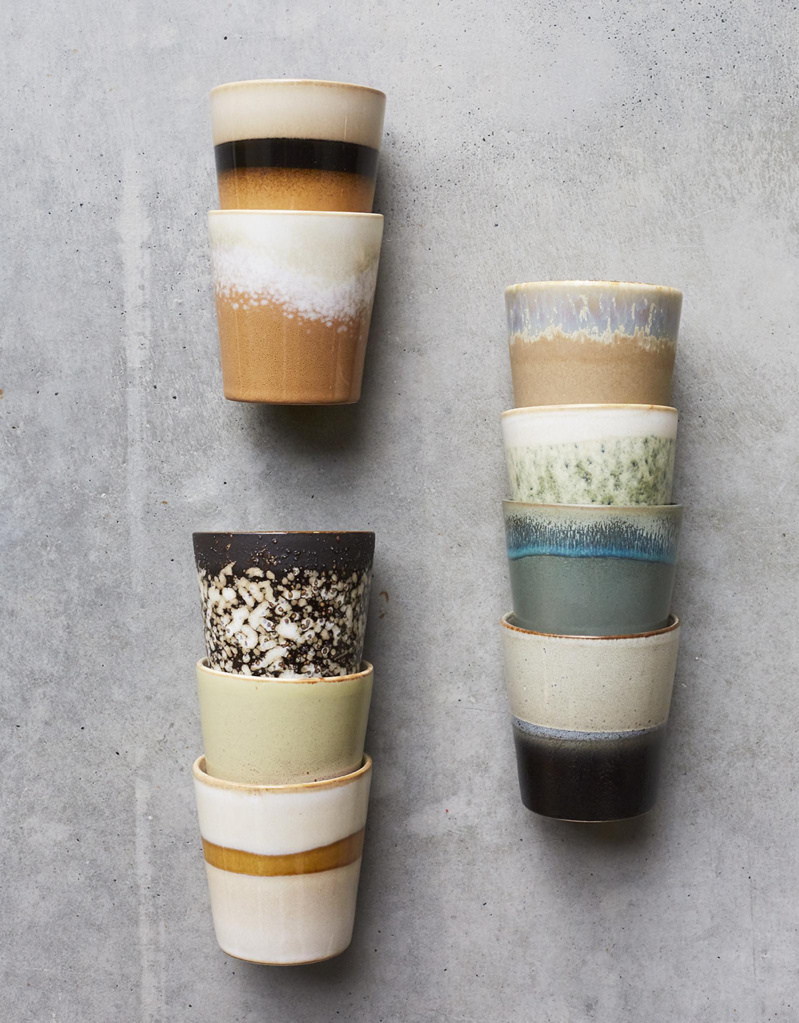 HKliving HK Living 70's  Ceramic Mug Snow
