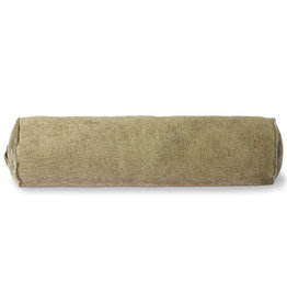 HKliving HKliving Corduroy Bolster Army Green  (20x70cm)