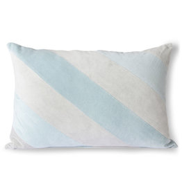 HKliving HKliving Velvet Cushion Ice Blue