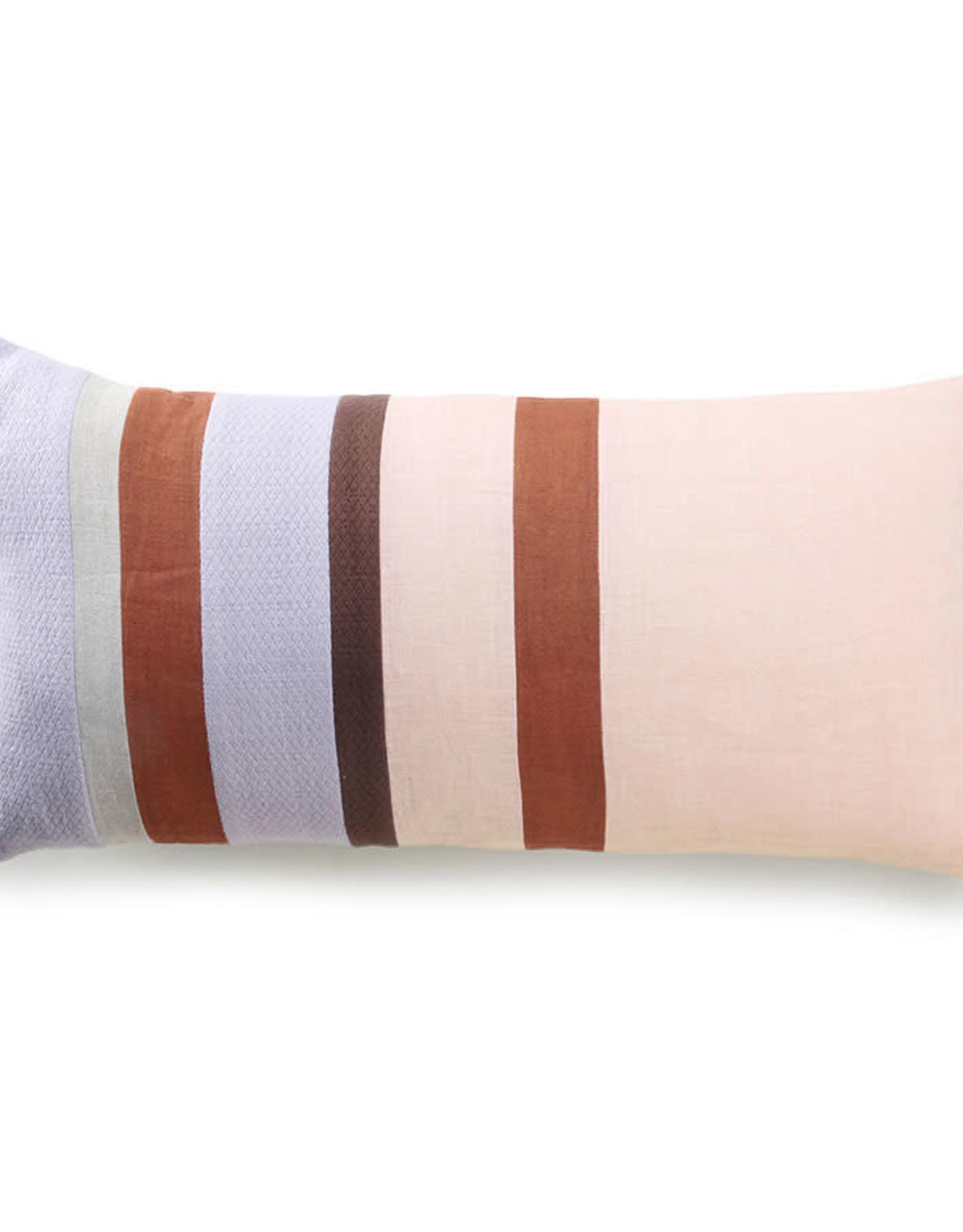 HKliving HKliving Linen Striped Cushion C (70x35cm)
